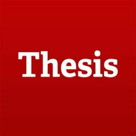 Journalism thesis pdf